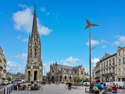 Basilique et Fleche Saint Michel Bordeaux