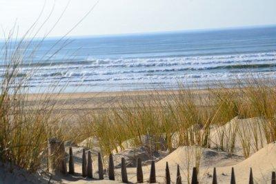 Cote atlantique plages du  medoc