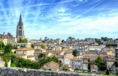 Escale en train Bordeaux saint Emilion