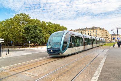 tram bordeaux ligne C de la gare aux chartrons 1