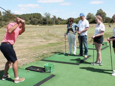 Practice de Golf Berck & Parcours compact 9 trous.