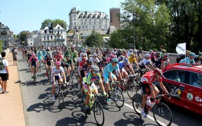 Passage du Tour de France à Pau