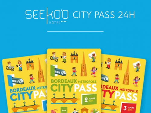 Seeko'o City Pass 24h  à 179 € au lieu de 189 € *