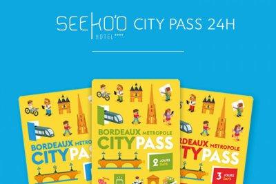 Seeko'o City Pass 24h  à partir de 179 € au lieu de 189 € *