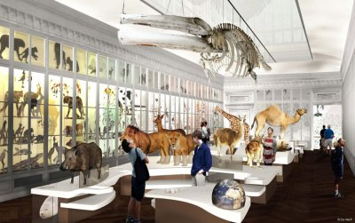 Inauguration du Muséum d'histoire Naturelle