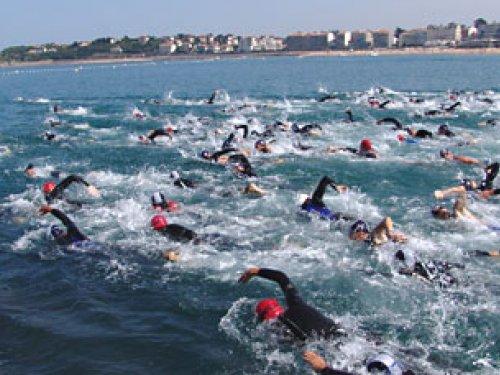 Triathlon à Saint Jean de Luz 8 Septembre 2018