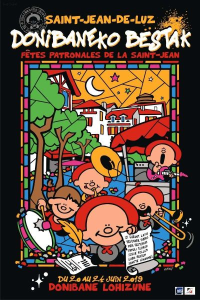 Fêtes de la Saint Jean du 18 au 22 Juin 2020 à Saint Jean de Luz