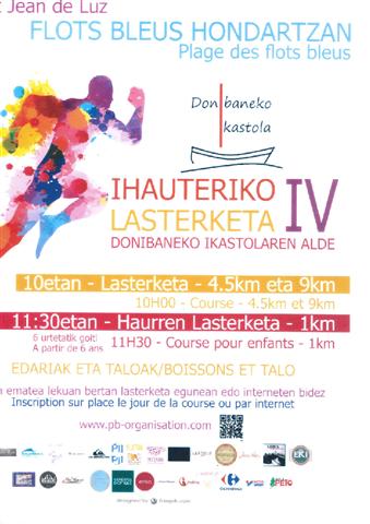 Course Ihauteriko lasterketa IV à Saint Jean de Luz le 10 Février 2019