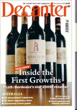 Cuvée Majeure 2010 recommended by Decanter Magazine