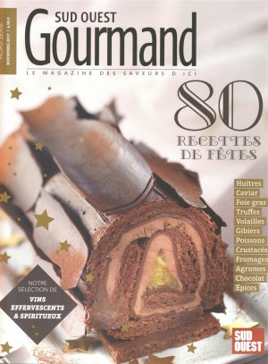 Le Crémant de Turcaud in Sud Ouest Gourmand Magazin
