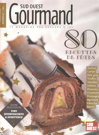 Le Crémant de Turcaud sélectionné par Sud Ouest Gourmand